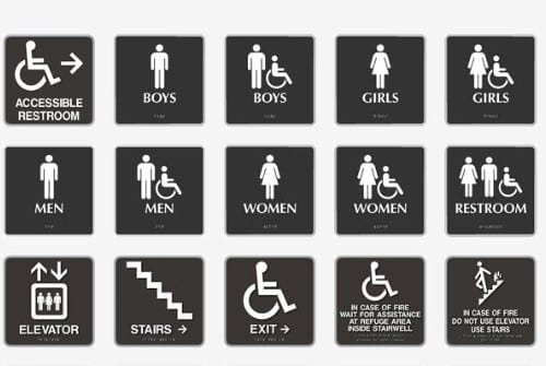 brown-handicap-ada-signs