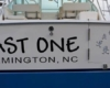 last one boat lettering