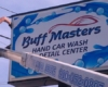 buff master lighted cabinet sign