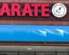 karate sign for business