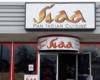 Indian cuisine restaurant sign