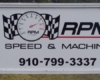 RPM Speed post and panel sign