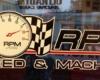RPM Speed Machine Door Graphic