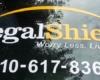 legal shield car window graphic