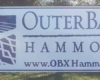 outer banks post and panel sign